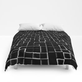 Three dimenssional background Comforters