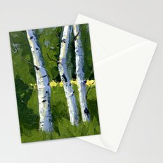 Aspens - Catching the Light Stationery Cards
