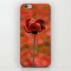 poppy iPhone & iPod Skin