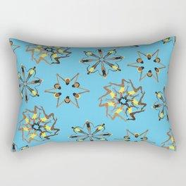 Synchronized Swimming Rectangular Pillow