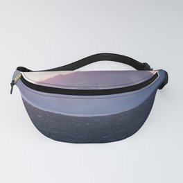 Crash into me - Romantic Sunset @ Beach #2 #art #society6 Fanny Pack