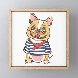 French Sailor Framed Mini Art Print