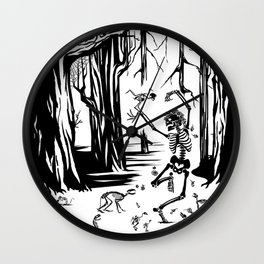 Sleeping Beauty, Fantasías Macabras Wall Clock