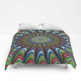 Psychedelic star Comforters