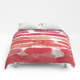 34   | 190408 Red Abstract Watercolour Comforters