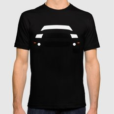 Ford Mustang Shelby GT500 ( 2013 ) Black LARGE Mens Fitted Tee