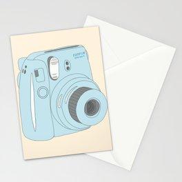 Kawaii Instax Camera Blue Stationery Cards