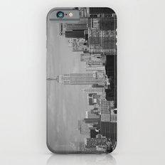 New York City Skyline (Black and White) iPhone 6s Slim Case