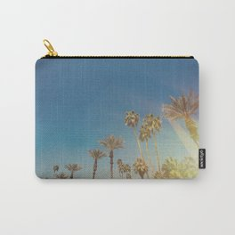 Palm Springs,California Palm Trees Sunburst Carry-All Pouch