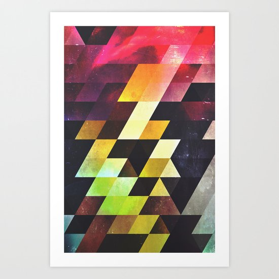 syxx-bynyny Art Print