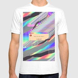 Error Tab Vaporwave T-shirt