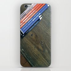 Art Pencils iPhone & iPod Skin