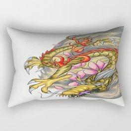 Warp Dragon Rectangular Pillow