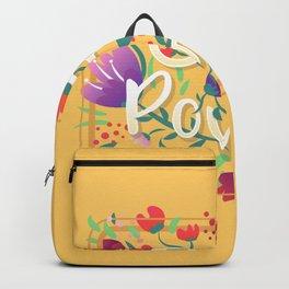 Girl Power - Sunny yellow Backpack