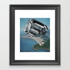Costa Del Diamante Framed Art Print