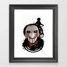 Billy The Puppet: Monster Madness Series Framed Art Print