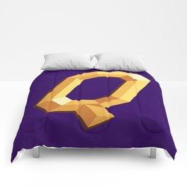 The Queen Logo Comforters