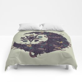 The Dark Moon Compels You to Fuck Shit Up Comforters