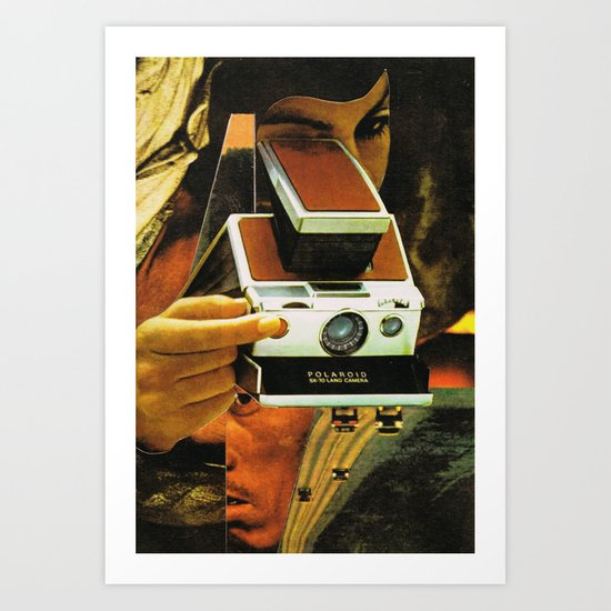 polariod 2 Art Print