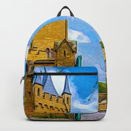 The Gates Of Hohenzollern Castle Backpack