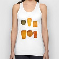beer Tank Tops featuring Beer by Cat Coquillette