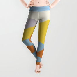 Over The Sunset Mountains Leggings