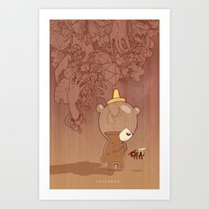 Honeyrama Art Print