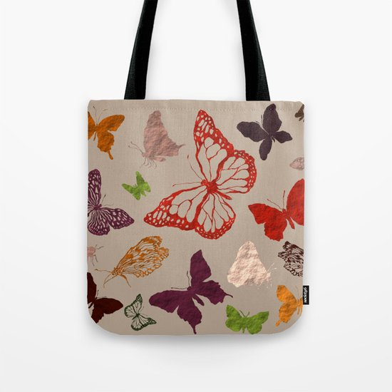 Autumn butterfly neutral Tote Bag