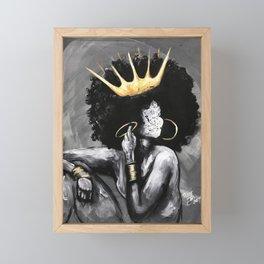 Naturally Queen VI Framed Mini Art Print