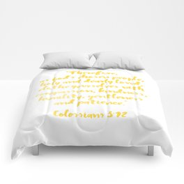 Colossians 3:12 Comforters