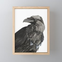The Raven Framed Mini Art Print