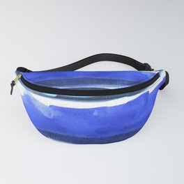 Wave Stripes Abstract Seascape Fanny Pack