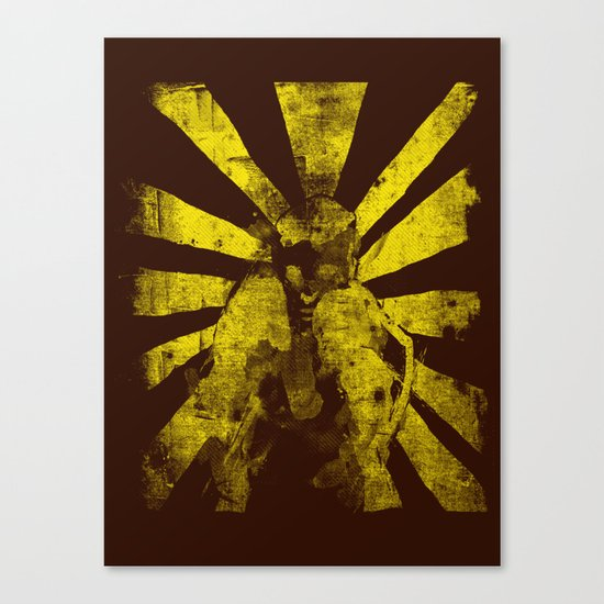 distressed  boxer Canvas Print