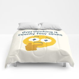 Leave Dwell Enough Alone Comforters