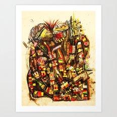 Kiss the King Art Print