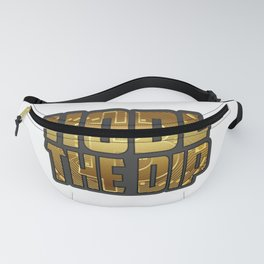 Funny Bitcoin Crypto hodl product - perfect present Fanny Pack