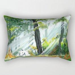 Unicorn Foal II Rectangular Pillow