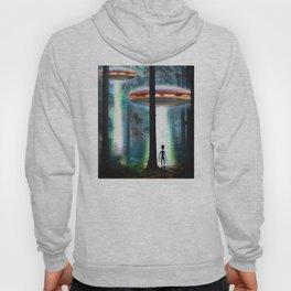 UFO ALIEN FOREST Hoody