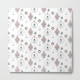 Xmas pattern 2 Metal Print