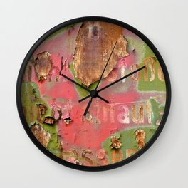 Colors of Rust / ROSTart Wall Clock