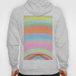 Double Rainbow - Fluor colors - Unicorn dreamers Hoody