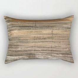 Gray brown Rectangular Pillow