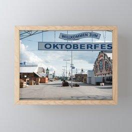 Oktoberfest Framed Mini Art Print
