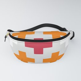 Colorful Crosses IV Fanny Pack