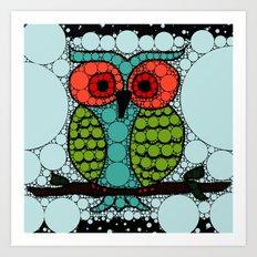 Curiosity Never Killed an Owl Art Print