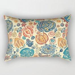 "Pennsylvania ""Dutch"" Stencil Rectangular Pillow"