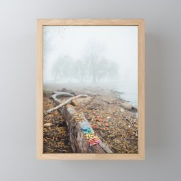 Lake Erie Fog Framed Mini Art Print