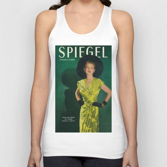 1951 Spring/Summer Catalog Cover Unisex Tank Top