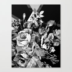 FLORIAN (BLACK & WHITE) Canvas Print