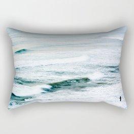 The fisherman I Rectangular Pillow